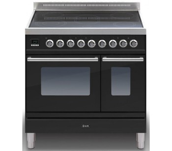 Ilve PDWI-90-E3-BK Cookers Range Cookers 90cm