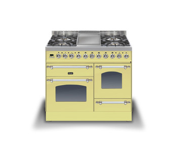 Ilve PTN-100-FE3BPCR Cookers Range Cookers 100cm