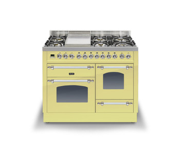 Ilve PTN-110F-E3CRBR Cookers Range Cookers 110cm