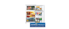 LEC T50084W Refrigeration Fridge Freezer